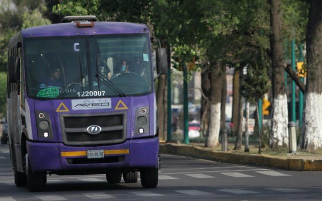 Darán acceso a salud y seguridad social a operadores de transporte público en Ciudad de México - Foto de Notimex