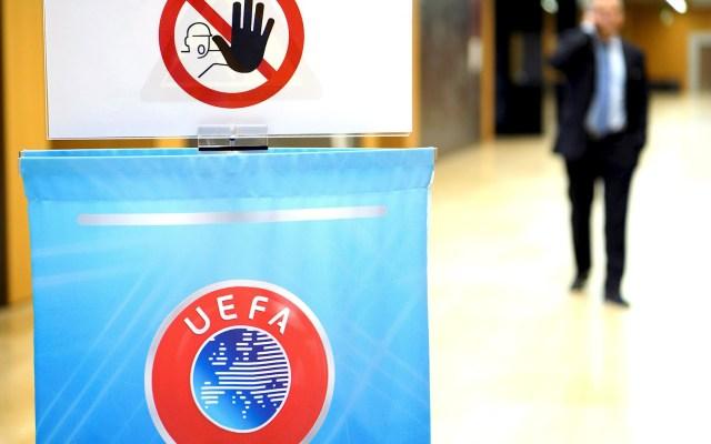 Es mejor jugar sin espectadores que no hacerlo para nada, afirma la UEFA - UEFA FIFA Europa LEague Champions Eurocopa
