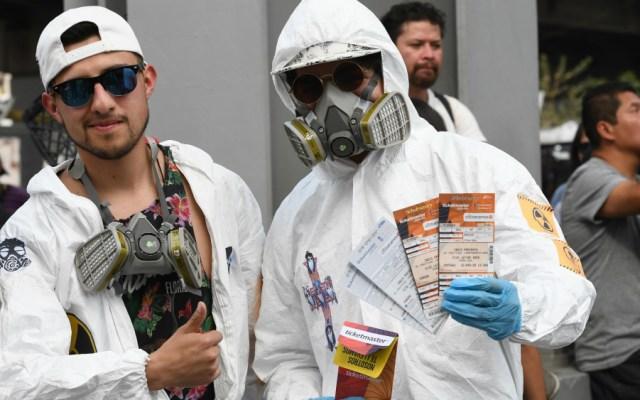Detectan en Vive Latino a 27 personas con fiebre; ninguna con COVID-19 - Foto de EFE