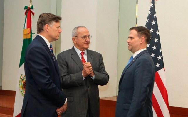 México y EE.UU. reforzarán colaboración bilateral en frontera común - XII Reunión Plenaria del Comité Ejecutivo Bilateral para la Administración de la Frontera en el Siglo XXI. Foto de @JesusSeade