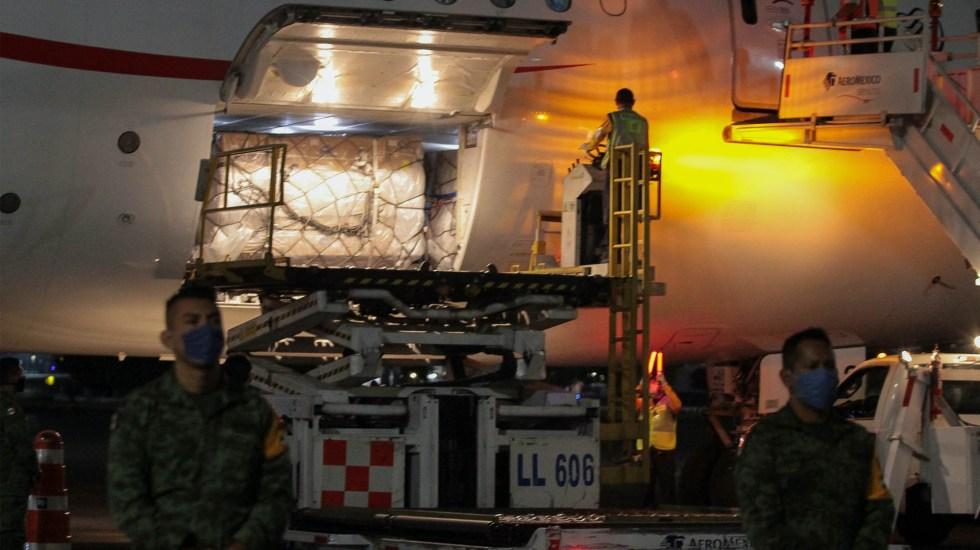 Llegarán vuelos con insumos médicos a México este fin de semana - Aeroméxico vuelo China insumos médicos 2