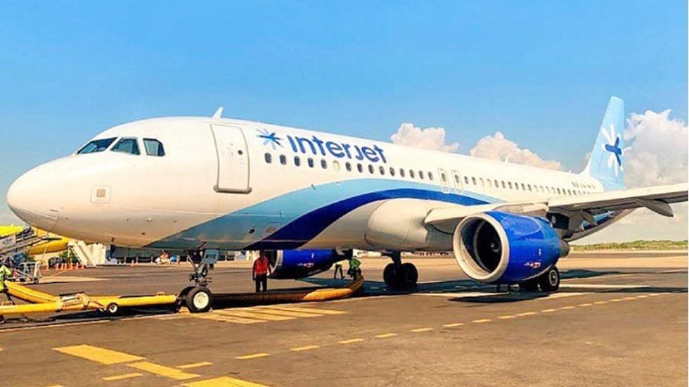 Junta Federal de Conciliación y Arbitraje valida huelga de trabajadores de Interjet - Airbus A320 XA-MYR de Interjet. Foto de @interjet