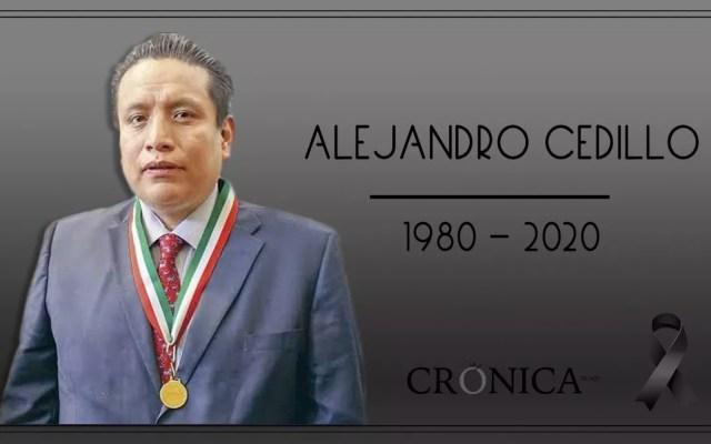 Murió el periodista Alejandro Cedillo, de La Crónica, por COVID-19 - Foto de La Crónica