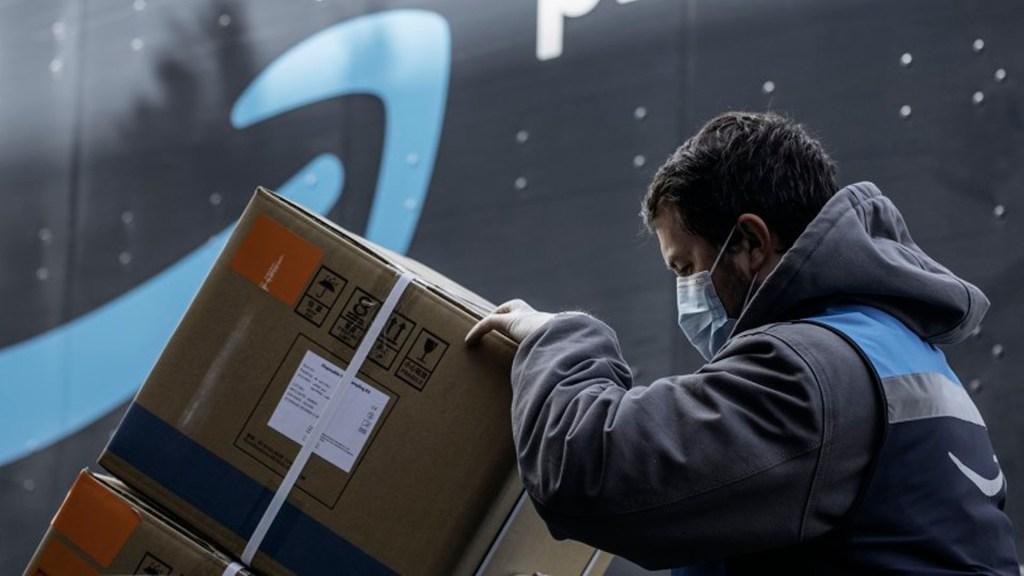 Amazon alcanza cotización histórica en plena pandemia de COVID-19 - Amazon coronavirus COVID-19