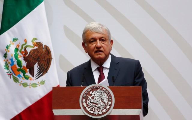 Informe trimestral del presidente López Obrador - Foto de EFE