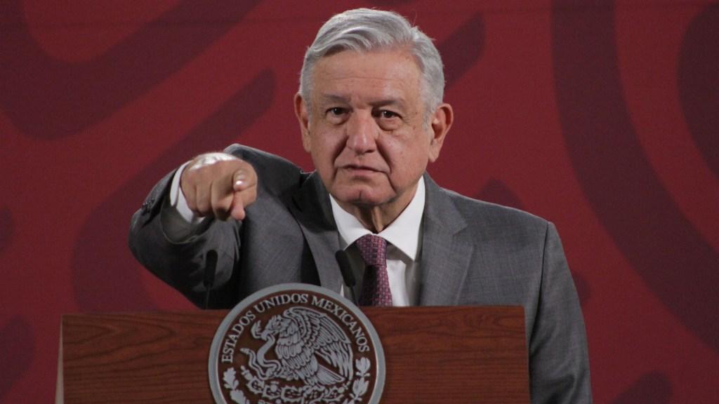 Decreto anunciado por López Obrador para enfrentar la crisis económica - El presidente Andrés Manuel López Obrador, durante su conferencia matutina. Foto de Notimex-Marco González.