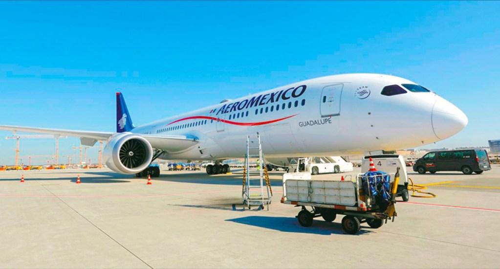 Aeroméxico continuará con operaciones reducidas por COVID-19 - Foto de Aeroméxico