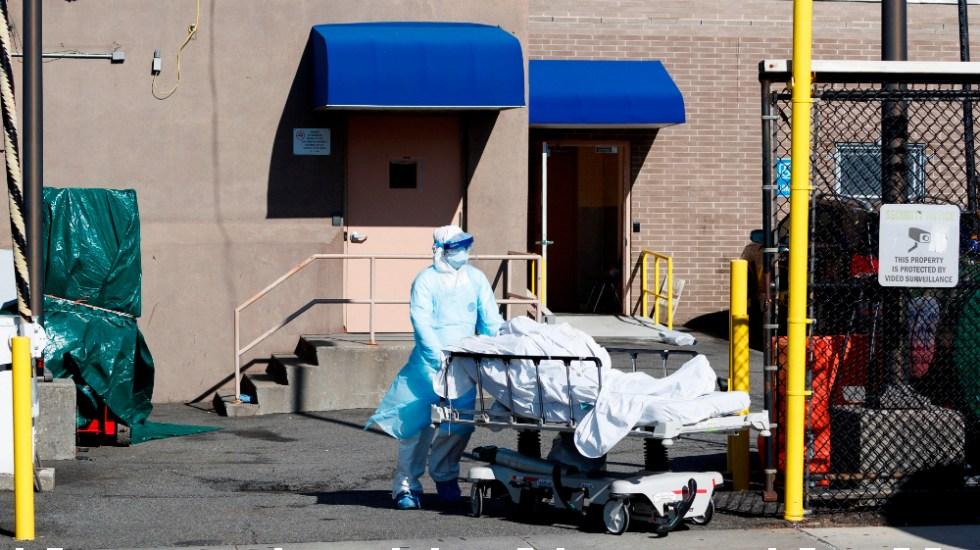 Nueva York registra la mayor cantidad de muertos por COVID-19 en un día - Foto de EFE