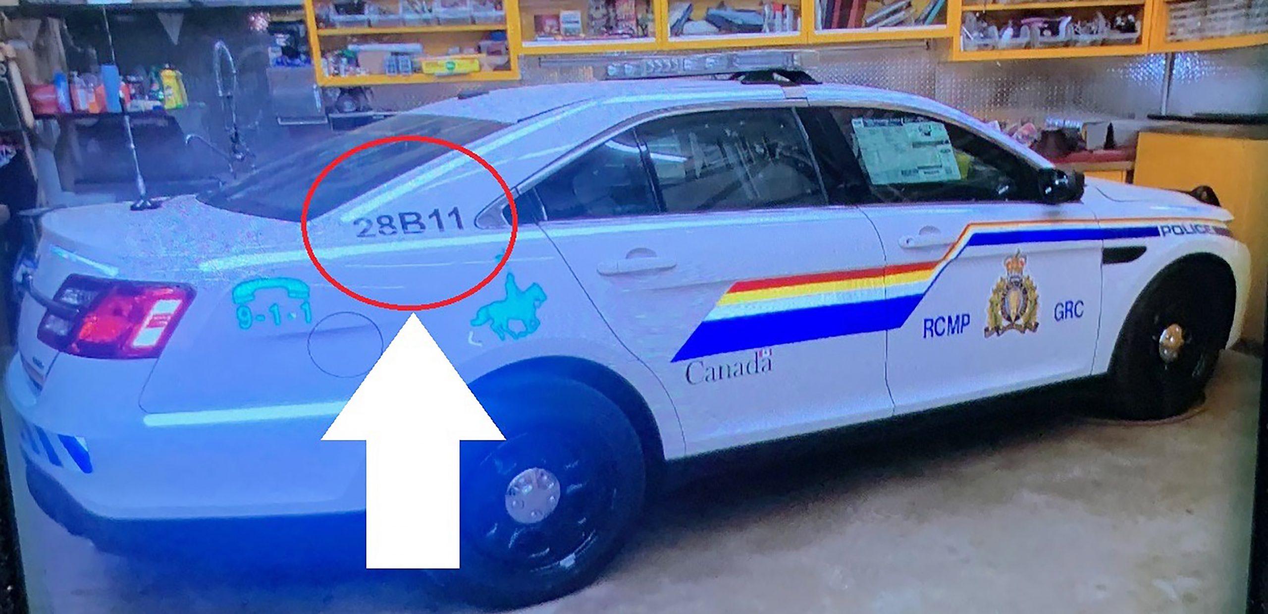 Foto concedida por Royal Canadian Mounted Police. Foto de EFE/EPA/RCMP HALIFAX