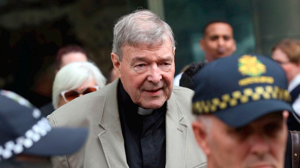 Vaticano expresa satisfacción tras absolución del cardenal Pell - cardenal George Pell