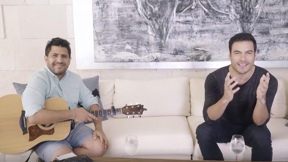 #Video Carlos Rivera ofrece concierto en cuarentena por COVID-19 - Carlos Rivera