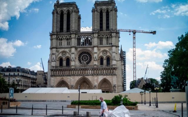 Reanudan reconstrucción de catedral de Notre-Dame - Foto de EFE