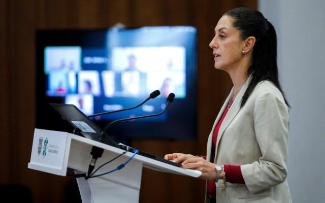 Habrá sanciones a empresas que no respeten la emergencia: Sheinbaum - Foto de Notimex