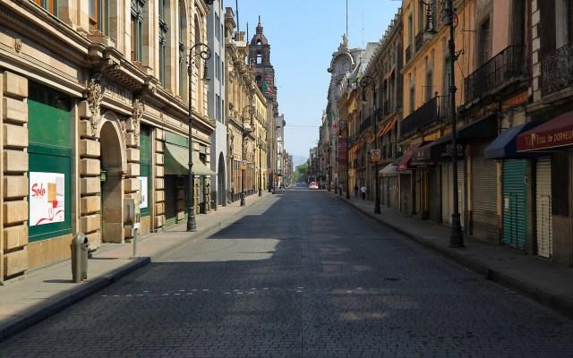 El 96 % de negocios del Centro Histórico permanecen cerrados - Foto de Notimex