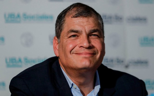 Rafael Correa, designado candidato a vicepresidente de Ecuador - Condenan a Rafael Correa a ocho años de cárcel por cohecho agravado
