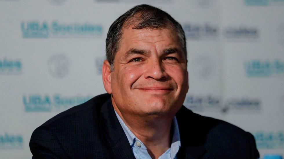 Condenan a Rafael Correa a ocho años de cárcel por cohecho agravado - Condenan a Rafael Correa a ocho años de cárcel por cohecho agravado