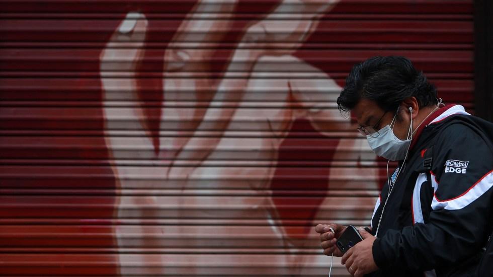 En las últimas 24 horas, México registró 6 mil nuevos casos de COVID-19 y 516 muertes - COVID-19 coronavirus México Centro Histórico