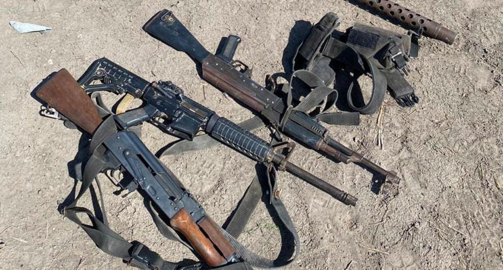 Detienen a 13 civiles armados tras enfrentamiento con Marina en Tamaulipas - La detención se logró cuando los elementos navales realizaban un recorrido de patrullaje y fueron agredidos por civiles armados en Ciudad Madero