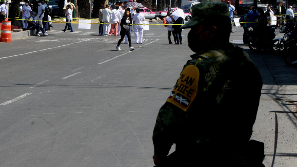 No se militariza respuesta de salud ante COVID-19, asegura López-Gatell - Foto de Notimex