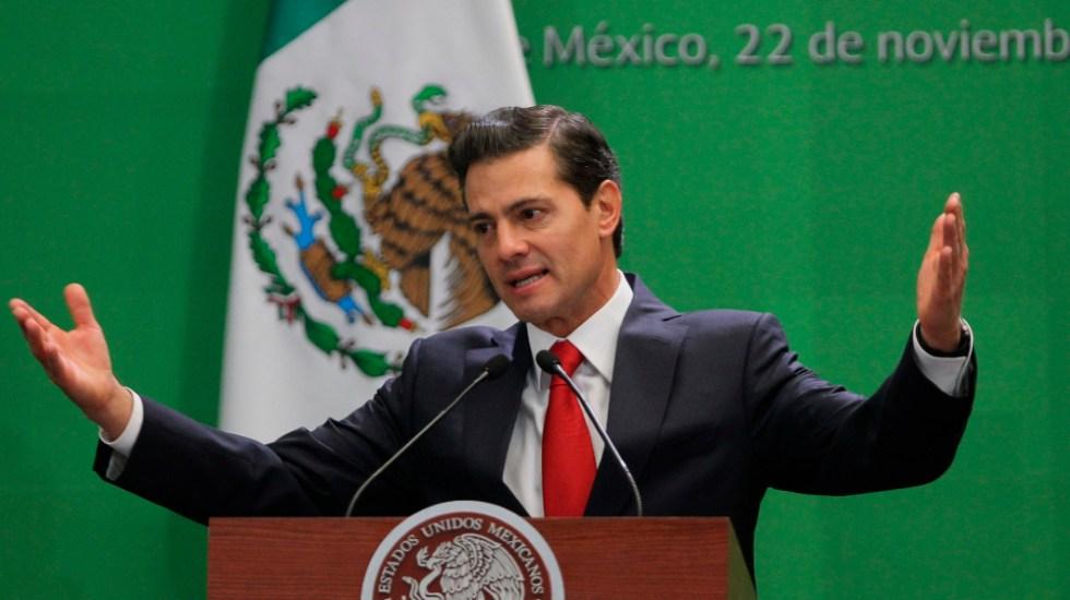 Gobierno de México denunciará a Peña Nieto si halla indicios de corrupción: UIF - Foto de EFE
