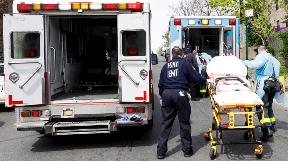 Estados Unidos supera los 50 mil muertos por COVID-19 - Estados Unidos Nueva York COVID-19 coronavirus