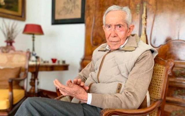 Murió  a los 84 años el exgobernador Ignacio Pichardo Pagaza - El exgobernador del Estado de México, Pichardo Pagaza, murió el martes debido a complicaciones cardíacas, a la edad de 84 años