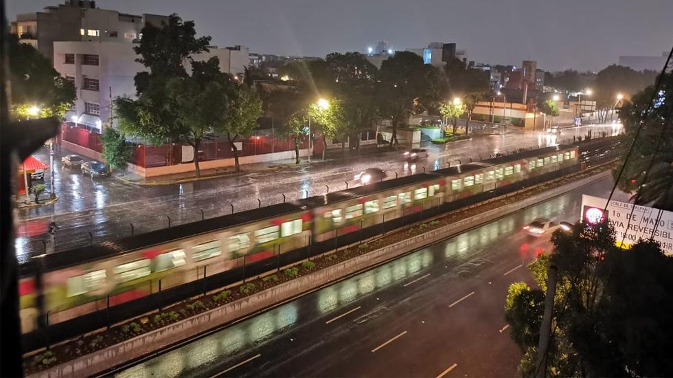 Granizada en la Ciudad de México - Foto de López-Dóriga Digital
