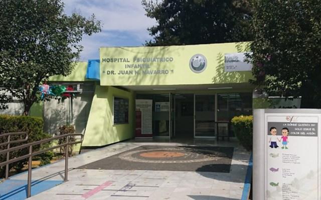 Médicos denuncian despidos injustificados en hospitales psiquiátricos de la capital - Hospital Psiquiátrico Infantil Dr. Juan N Navarro. Foto de Google Maps / alfonsobahena75