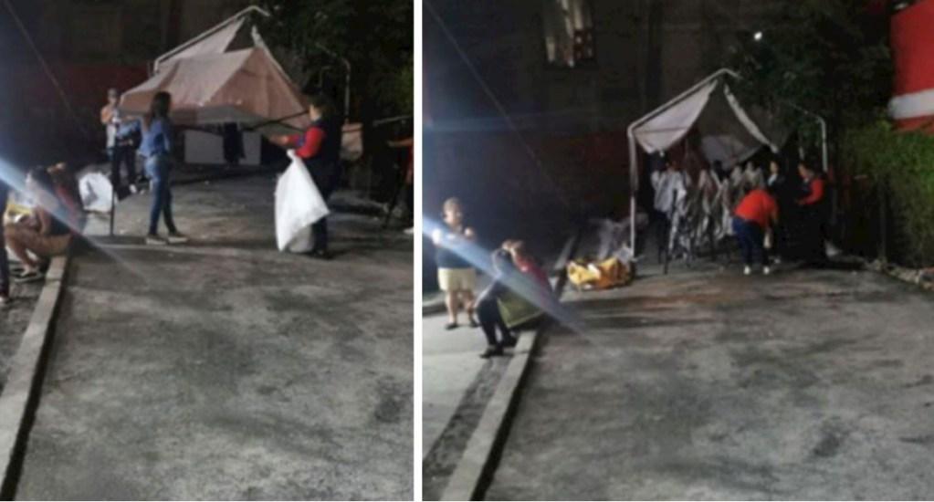 Policías suspenden fiesta de XV años en Iztacalco - Iztacalco fiesta XV Años COVID-19