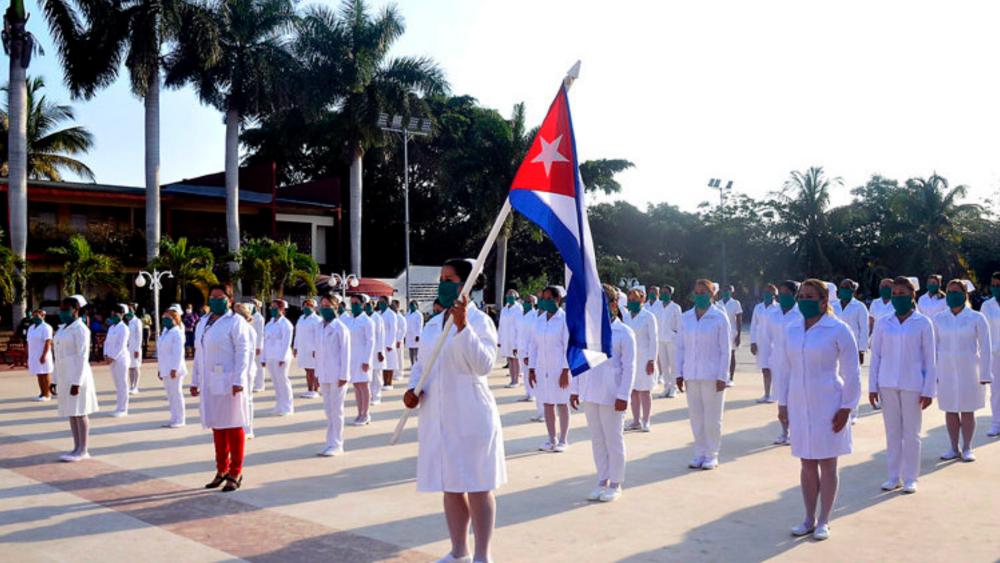 Médicos cubanos concluyen atención del COVID-19 en la Ciudad de México - Brigada de médicos cubanos. Foto de @japortalmiranda