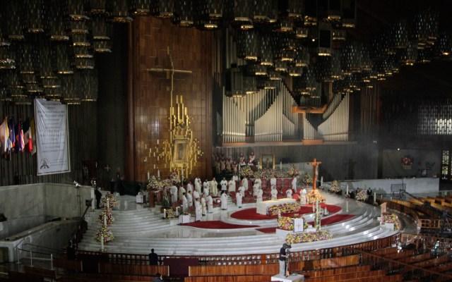 Misa desde la Basílica de Guadalupe, oficiada por el Cardenal Carlos Aguiar - Misa oficiada por el arzobispo Carlos Aguiar Retes en la Basílica de Guadalupe. Foto de Notimex-Romina Solis.