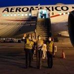 Sale de China rumbo a México carga de insumos médicos para COVID-19