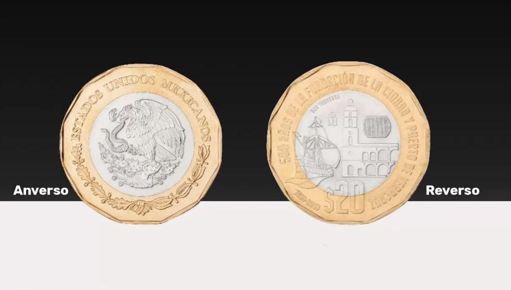 Banxico presenta nueva moneda de 20 pesos - Foto de Banxico