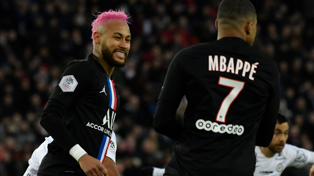 La liga francesa proclama campeón al PSG - Foto de EFE