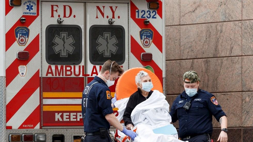 Estados Unidos supera las 164 mil muertes por COVID-19 y los 5.13 millones de casos - Nueva York NY Coronavirus COVID-19 Estados Unidos