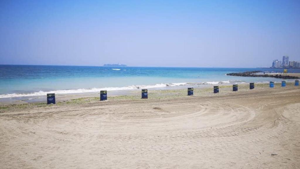 Playas de Veracruz lucen colores turquesa ante baja actividad humana - Playas Turquesa Veracruz cuarentena pandemia