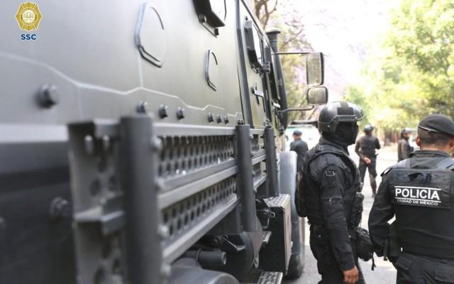 Muere policía de la SSC por COVID-19 - Foto de SSC