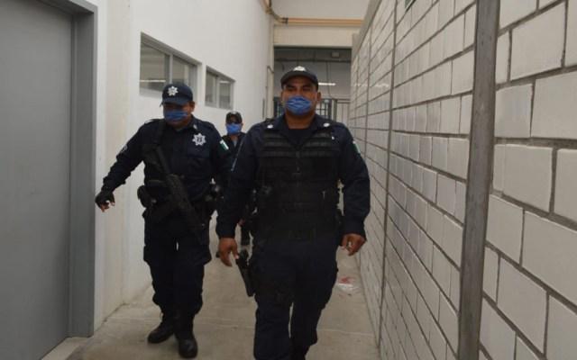 Suman siete policías muertos por COVID-19 en Tabasco - Policías de Tabasco. Foto de @SSPCTabasco