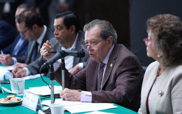 Muñoz Ledo denuncia amenazas desde la Consejería; Scherer las niega - Porfirio Muñoz Ledo denuncia amenazas en su contra. Foto de Twitter Porfirio Muñoz Ledo