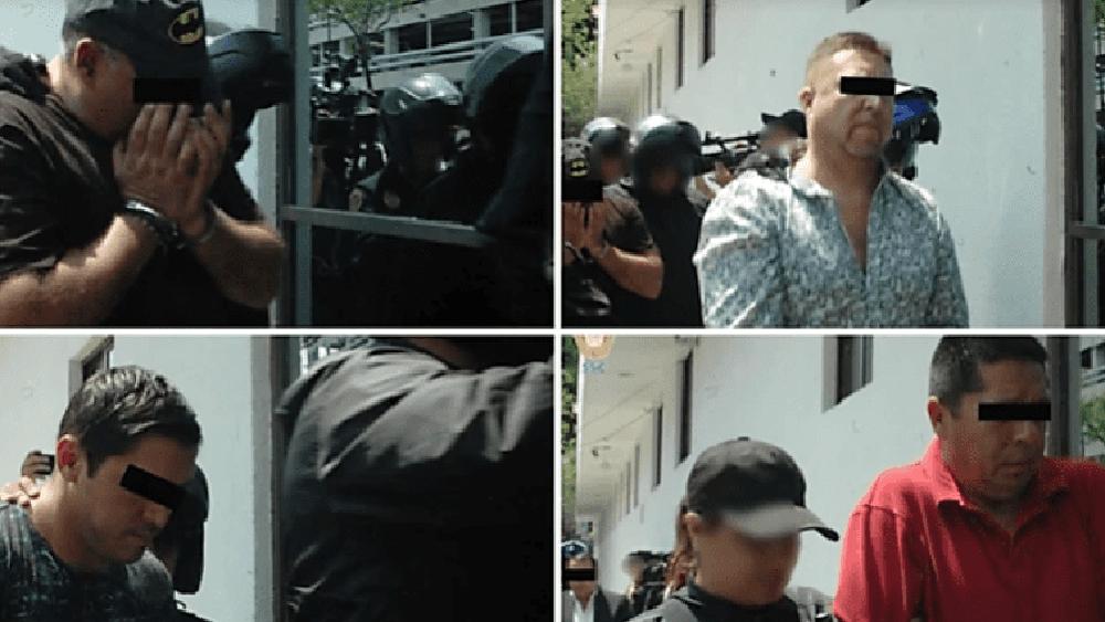 Presuntos narcotraficantes detenidos en la capital trasladaban drogas a EE.UU. - Presuntos narcotraficantes. Foto Especial