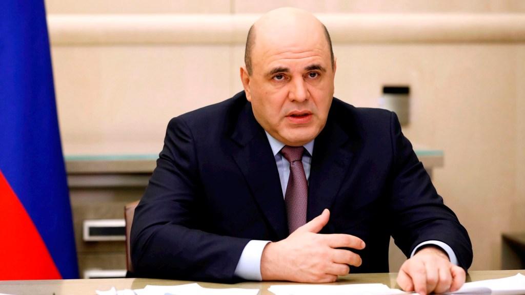 Primer ministro de Rusia da positivo a COVID-19 - primer ministro ruso Mijaíl Mishustin coronavirus COVID-19