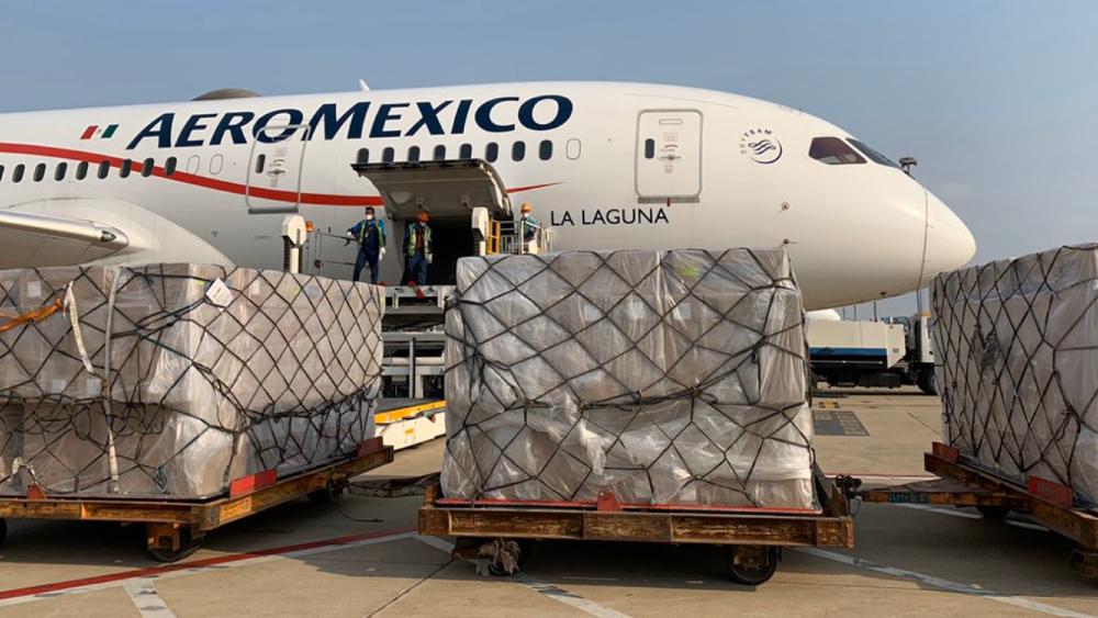 México recibió siete donaciones de otros países por COVID-19 - Foto de @ConsulMexSha