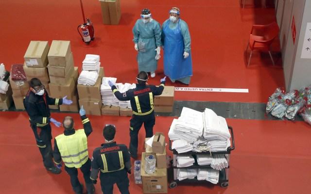 EE.UU. vivirá momento como el 11-S por coronavirus, advierte funcionario - Reparto de suministros médicos en EE.UU. Foto de EFE