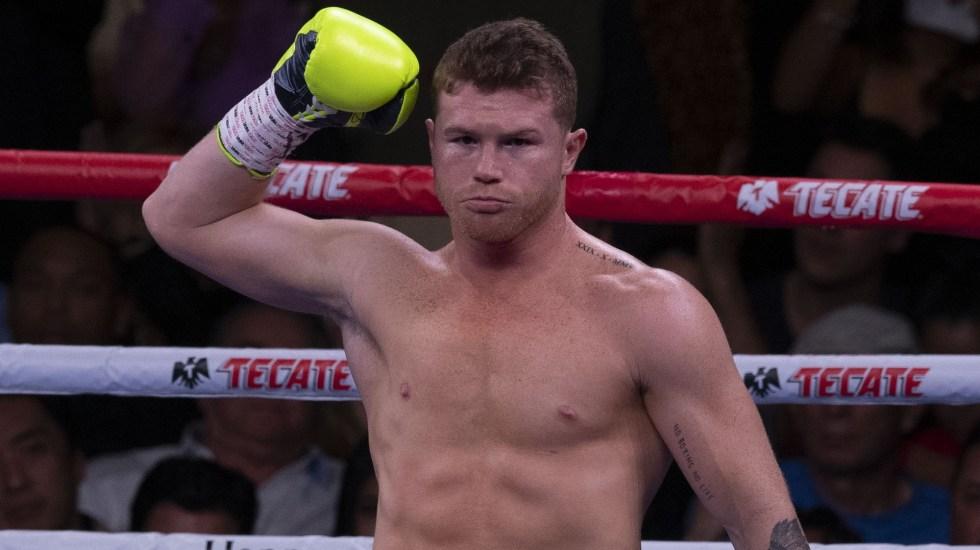 Eddy Reynoso no descarta pelea del 'Canelo' con Conor McGregor - Saúl Canelo Álvarez pelea BOX