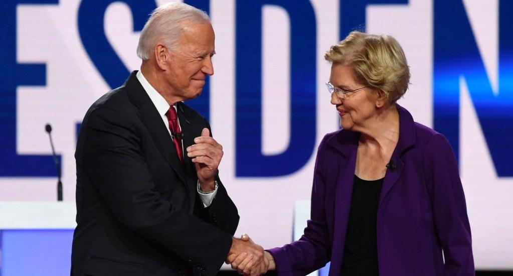 Elizabeth Warren se suma al respaldo de Joe Biden por la Presidencia de Estados Unidos - Warren afirmó que en este momento de crisis, por la pandemia del coronavirus COVID-19, el próximo presidente debe ser Joe Biden
