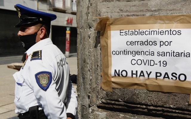 """AMLO """"demanda todo de las empresas, sin aportar nada""""; acusa Coparmex - Zócalo Ciudad de México coronavirus COVID-19 2 establecimientos"""