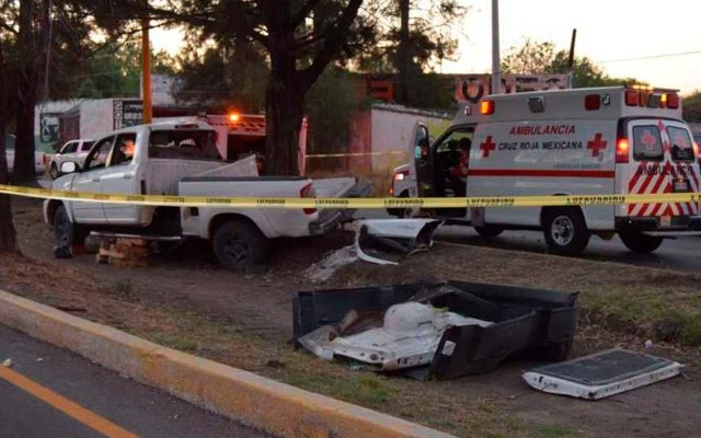 Choque en Aguascalientes deja tres menores de edad muertos - accidente Aguascalientes