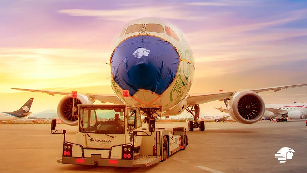 Aeroméxico impone nuevo récord con ocho aviones sobrevolando el Pacífico - Foto de Aeroméxico