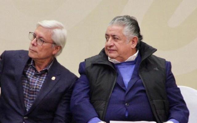 """Secretario de Gobierno de BC sostiene que """"hay que acatar"""" fallo sobre 'Ley Bonilla' - Amador Rodríguez Lozano junto al gobernador de BC, Jaime Bonilla. Foto de Facebook"""