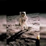 Hace más de 50 años el hombre llegó a la luna; así lo recordó Buzz Aldrin
